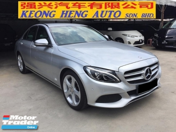 2016 MERCEDES-BENZ C-CLASS C200 28K KM Full Service Under Warranty 2020