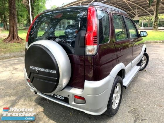 2003 PERODUA KEMBARA 1.3 EZS (A) FACE LIFT SUV 4WD DVVT