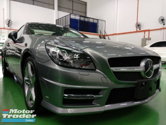 2015 MERCEDES-BENZ SLK SLK200 AMG  1.8 A JAPAN UNREGISTERED