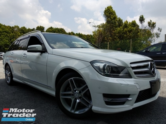 2014 MERCEDES-BENZ C-CLASS C200 AMG 1.8 JAPAN UNREGISTERED