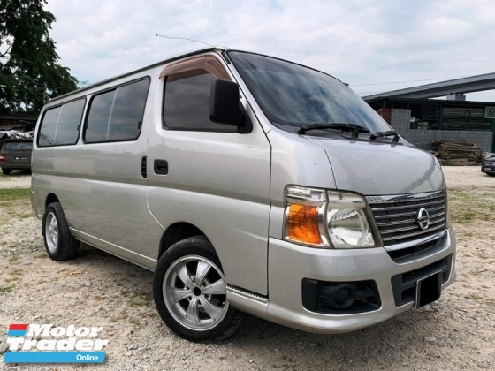 2014 NISSAN URVAN 3.0 M - Superb condition like new car with well maintained performance. Maximum Full Loan OTR , VERY FAST LOAN APPROVAL.