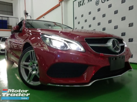 2014 MERCEDES-BENZ E-CLASS  E250 2.0 CABRIOLET CGI AMG JAPAN 4 YEARS WARRANTY