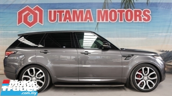 2014 LAND ROVER RANGE ROVER SPORT 5.0 SUPERCHARGED HSE DYNAMIC 5.0 PETROL PANORAMIC ROOF VACUUM DOOR
