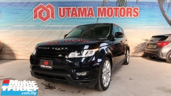 2015 LAND ROVER RANGE ROVER SPORT 5.0 SUPERCHARGED BEIGE INTERIOR PANORAMIC ROOF MERDEKA SALE