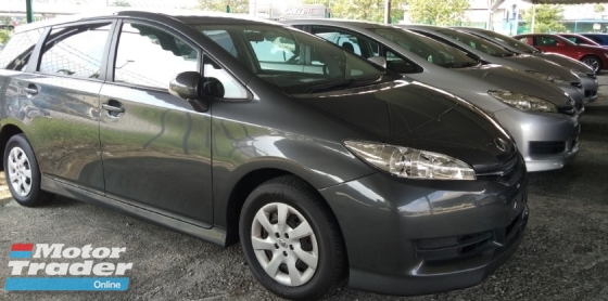 2014 TOYOTA WISH 1.8X Recon~car (((Blacklisted)))can loan New unregistered.