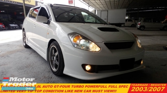 2007 TOYOTA CALDINA 2.0 GT-4 SUNROOF (A)TURBO FULL SPEC ORIGINAL RECARO