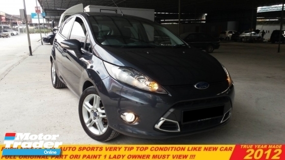 2012 FORD FIESTA  1.6 SPORT Ti-VCT (A) LIKE NEW CAR