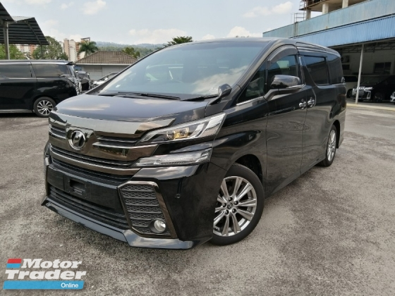 2016 TOYOTA VELLFIRE 2.5Z Golden Eyes Alpine Unregistered