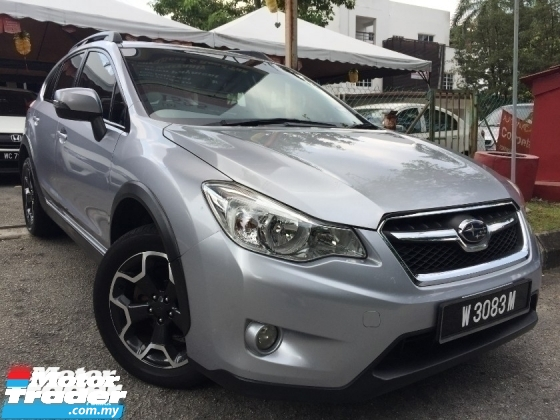 2013 SUBARU XV 2013 SUBARU XV 2.0 (A) 1 GOOD OWNER FULL SPEC