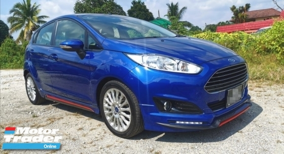 2014 FORD FIESTA 1.0 AUTO TURBO ECOBOOST / FULL SPEC / PUSH START BUTTON / KEYLESS ENTRY / SEMI LEATHER SEAT / ORIGINAL FIESTA BODYKIT / TIPTOP CONDITION / CAN TRY HIGH LOAN