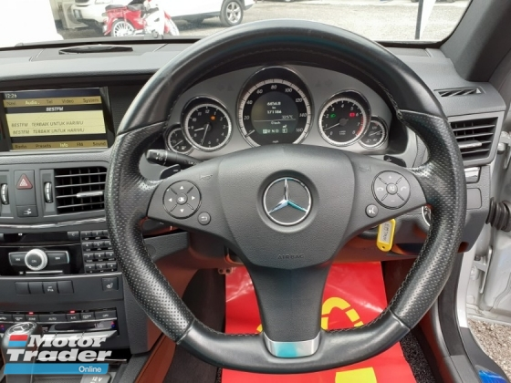 2011 MERCEDES-BENZ E-CLASS E250 AMG COUPE 1.8 (A) PANORAMIC ROOF