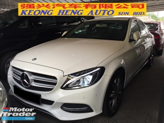 2015 MERCEDES-BENZ C-CLASS C200 CKD Full Service Record Under Warranty