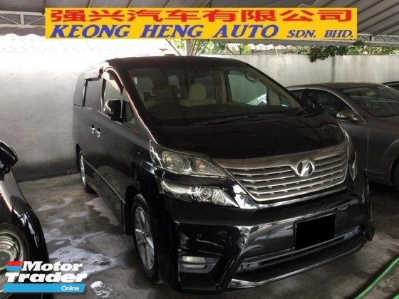 2009 TOYOTA VELLFIRE 3.5 V L EDITION Registered 2012