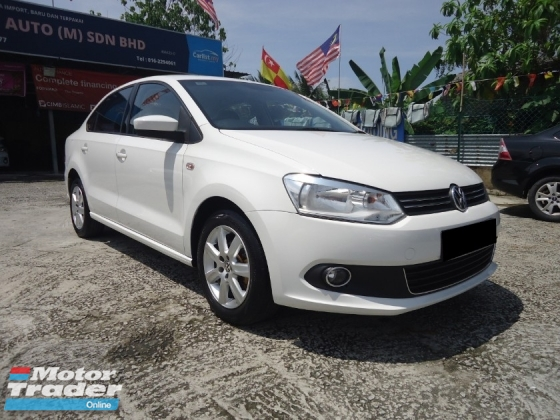 2014 VOLKSWAGEN POLO 2014 Volkswagen Polo Sedan 1.6(A) Like New Car Must View