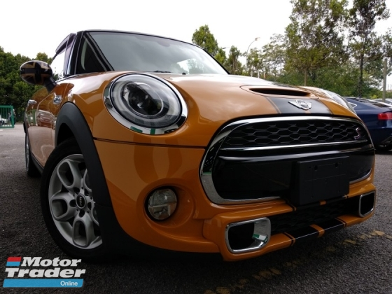 2014 MINI Cooper S  2.0 TWIN TURBO NEW FACELIFT  JAPAN UNREG 4 YRS  WARRANTY