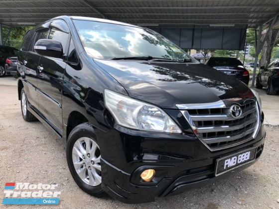 2015 TOYOTA INNOVA 2.0G (A) FACELIFT NICE NUMBER