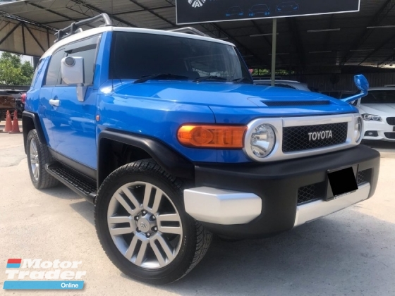 2011 TOYOTA FJ CRUISER YEAR MADE 2011 REG 2016 4WD KING