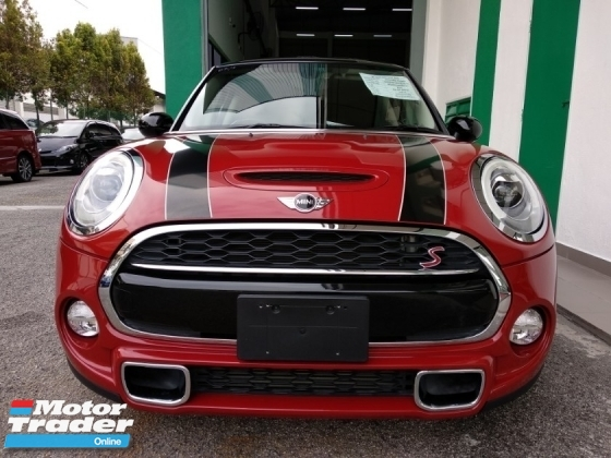 2015 MINI Cooper S 2.0 (A) TWIN TURBO JAPAN SPEC 4 YEARS WARRANTY