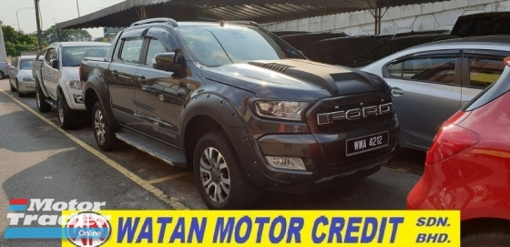 2018 FORD RANGER 3.2 WILDTRAK 4WD ACTUAL YEAR MAKE 2018 WARRANTY 2021