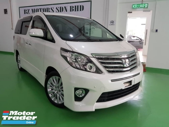 2014 TOYOTA ALPHARD 2.4 S UNREG JAPAN DIRECT AP HOLDER LOW INTERESTS 2.XX%