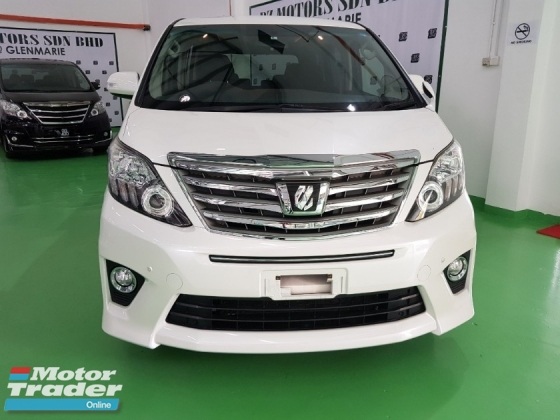 2014 TOYOTA ALPHARD  2.4 (A) S PACKAGE JAPAN UNREGISTERED 4 YRS WARRANTY