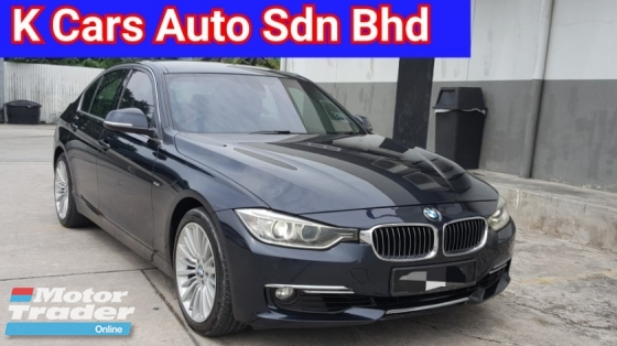 2013 BMW 3 SERIES 328i F30 (CBU) Local New Excellent Condition Never Accident Before Confirm No Repair Need Free Warranty Worth Buy
