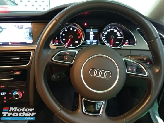 2014 AUDI A5 TFSI 2.0 QUATTRO COUPE JAPAN UNREGISTERED 4 YEARS WARRANTY