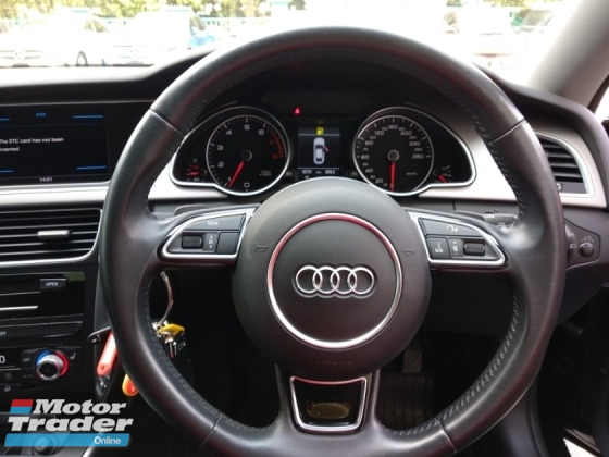 2014 AUDI A4  2.0 TFSI F/LIFT (A) JAPAN UNREGISTED 4 YEARS WARRANTY