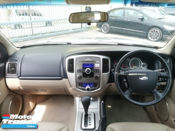 2012 FORD ESCAPE 2.3 XLT 4X4 _FACELIFT SERVICE RECORD 1-OWNER