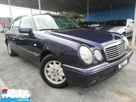 1999 MERCEDES-BENZ E-CLASS E240 ELEGANCE V6 TIP-TOP