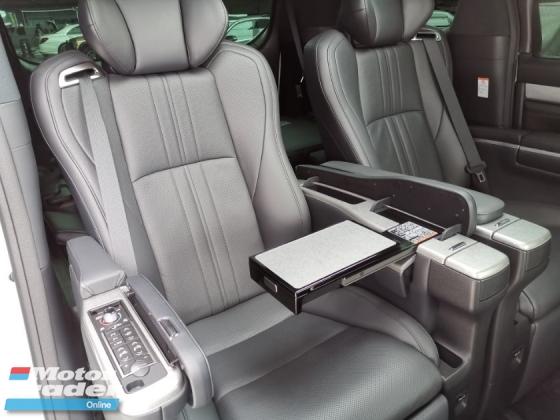 2018 TOYOTA VELLFIRE 3.5 Executive Lounge Full Spec Unreg Sale Offer