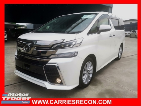 2015 TOYOTA VELLFIRE 2.5ZA JBL SOUND SYSTEM/HOME THEATER/PRECRASH/4 CAMERA - UNREG