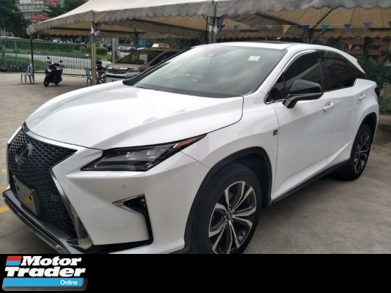 2016 LEXUS RX 200 turbo 235 hp head up display pre crash stop system original 360 surround camera power boot