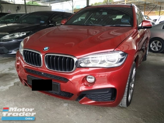 2015 BMW X6 3.0 AUTO CKD LOCAL SPEC FULL SERVICE RECORD AT BMW AUTO BAVARIA