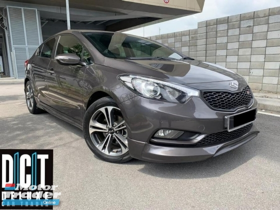2016 KIA CERATO K3 Premium Spec Keyless Leather Seat Tiptop Condition