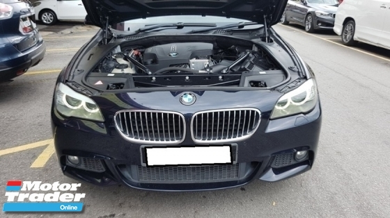 2013 BMW 5 SERIES 528I M-SPORTS 2.0cc (A) REG 2013, CKD, ONE CAREFUL OWNER, FULL SERVICE RECORD, FREE 1 YEAR GMR CAR WARRANTY, 18\