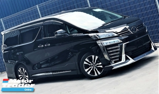 2018 TOYOTA VELLFIRE 2.5 ZG Edition  NEW FACELIFT + SELECTED PREMIUM JAPAN SPECS UNREGISTERED