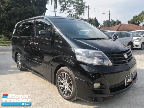 2008 TOYOTA ALPHARD 2.4 AS PREMIUM ALCANTARA(A) ORIGINAL SPEC SUNROOF PUSH START POWER BOOT