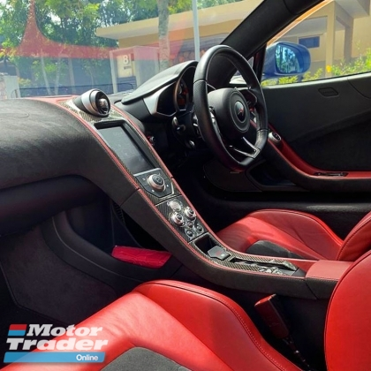 2011 MCLAREN MP4-12C BUTTERFLY DOORS FORMULA 1 TECHNOLOGY IN A COUPE