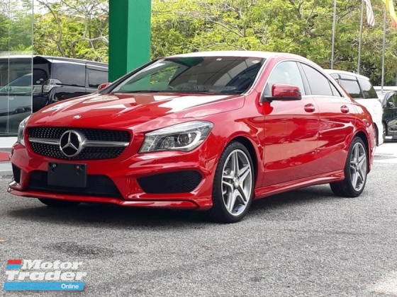2014 MERCEDES-BENZ CLA CLA-class CLA250 AMG 2.0 AT CBU Japan