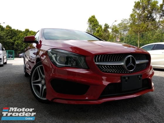 2014 MERCEDES-BENZ CLA 250 AMG JAPAN UNREGISTERED 4 YEARS WARRANTY