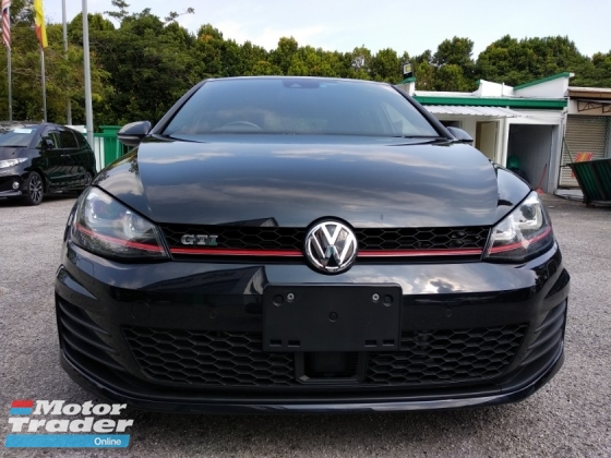 2015 VOLKSWAGEN GOLF GTI 2.0(A) JAPAN 4 YEARS WARRANTY UNREGISTERED