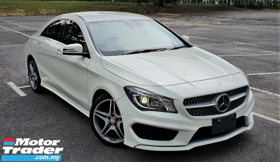 2015 MERCEDES-BENZ CLA 2015 MERCEDES BENZ CLA 250 2.0 AMG TURBO  UNREG JAPAN SPEC CAR SELLING PRICE ONLY RM 183000.00