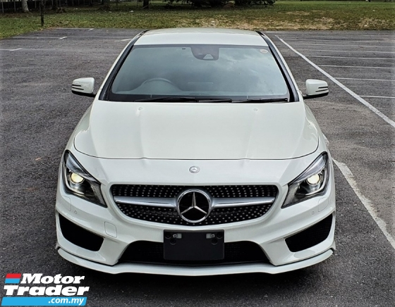 2015 MERCEDES-BENZ CLA 2015 MERCEDES BENZ CLA 250 2.0 AMG TURBO  UNREG JAPAN SPEC CAR SELLING PRICE ONLY RM 176000.00
