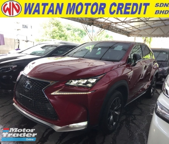 2015 LEXUS NX NX200T F SPORT PRE CRASH PARKING CAMERA LEATHER MEMORY SEAT 2015 JPN UNREG