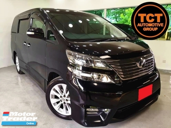 2010 TOYOTA VELLFIRE 2.4ZP Z-PLATINUM MPV (A) 2 PWR DOOR & BOOT KEYLESS ENTRY & START REAR ENTERTAINMENT