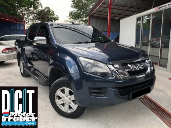 2018 ISUZU D-MAX 2.5L (M) HI-RIDER FACELIFT LOW MILEAGE LIKENEW CONDITION