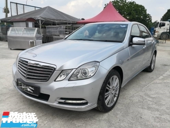 2012 MERCEDES-BENZ E-CLASS E200 CGI ELEGANCE BlueEFCY LOCAL CAR FULL SPEC TIPTOP LIKE NEW