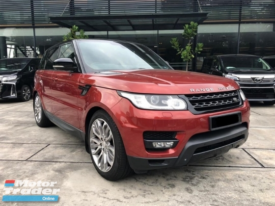 2014 LAND ROVER RANGE ROVER SPORT 5.0 V8 SPRCHARGED