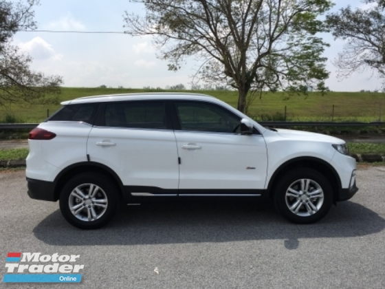 2018 PROTON X70 1.8 TGDI 2WD Warranty 5 Years